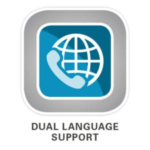 Allworx Dual Language Support Icon