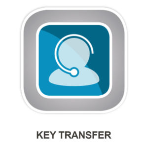 Allworx Key Transfer Icon